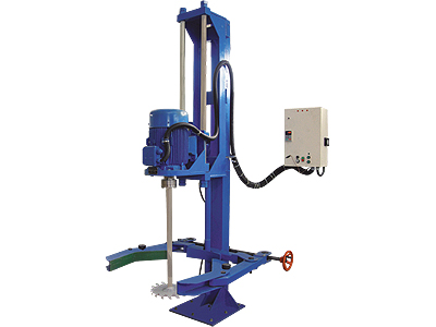 KU-YA HYDRAULIC COLUMN TYPE DISPERSION MACHINE